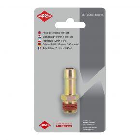 Embout tuyau air comprimé 10 mm Filetage 1/4