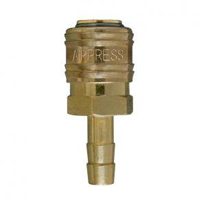 Raccord rapide Euro pour tuyau 8 mm - Sous blister