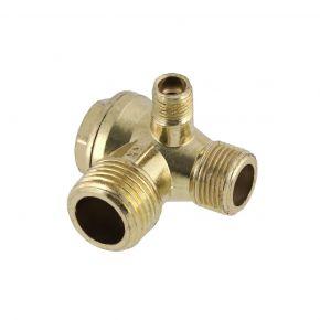"""Clapet anti-retour 1/2"""" Mâle x 12 mm pour compresseur 36840/ 36546/ 36646"""