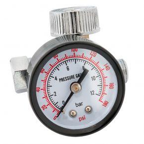 """Réducteur de pression avec manomètre 1/4"""" 10 bar"""