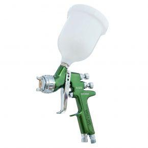 Pistolet à peinture HVLP Buse 1,2 mm 2-3 bar Godet 600 ml 90-140 l/min