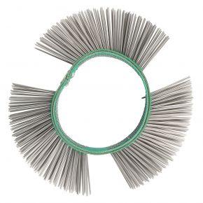 Brosse fils de fer fins 23 mm pour meuleuse à lamelles
