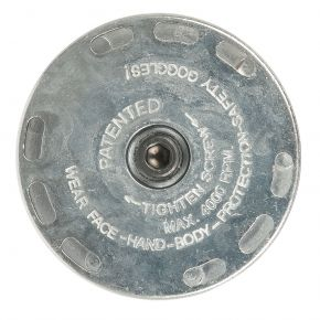 Plateau support pour brosse 23 mm 45429