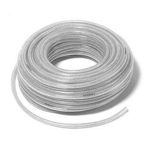 Tuyau PVC Nylon tressé 10 x 16 mm 50 m 10-20 Bar