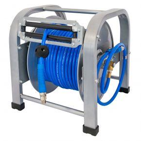 Dévidoir d'air comprimé 30 m 8 x 12 mm automatique