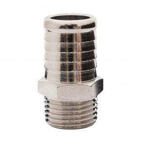 """Embout pneumatique pour tuyau 19 mm vers Filetage Mâle 1/2"""""""