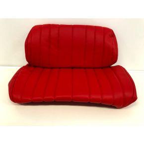 Housse siège Hedo Rouge 2 pieces