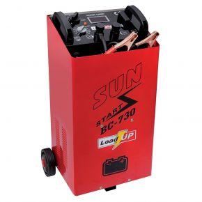 Chargeur de batterie avec assistance au démarrage