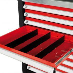 Séparateurs de tiroir 55 x 395 mm pour Servante d'atelier