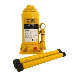 Cric Bouteille Hydraulique VRB 10 tonnes 200-395 mm