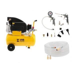 Compresseur 8LC24-1.5 VRB 8 bar 1.5 ch 125 l/min 24 l Plug & Play