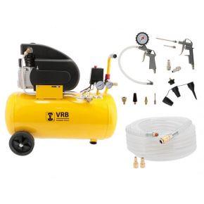 Compresseur 8LC50-2.0 VRB 8 bar 1.5 ch/1.1 kW 138 l/min 50 L Plug & Play