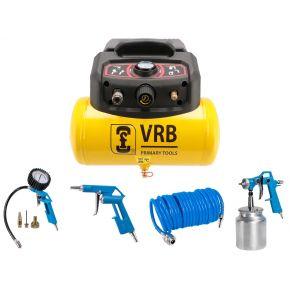 Mini Compresseur 8LC6-1.5 VRB 8 bar 1.5 cv 129 l/min 6 L Plug & Play