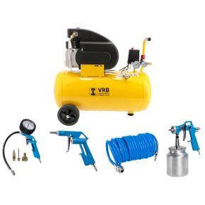 Compresseur 8LC50-2.0 VRB 8 bar 2 cv 160 l/min 50 L Plug & Play