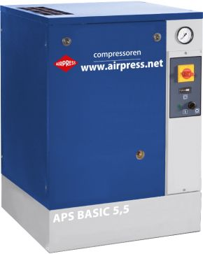 Compresseur à vis APS 5.5 Basic 10 bar 5.5 cv 470 l/min