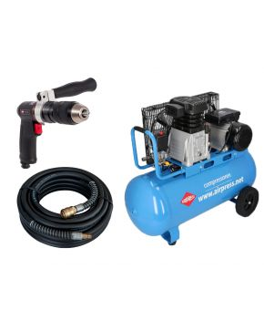 Compresseur HL 340-90 10 bar 3 cv 272 l/min 90 l Plug & Play