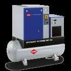 Compresseur à vis APS 10 Basic Combi Dry G2 10 bar 10 cv/7.5 kW 984 l/min 500 L