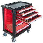 Servante d'atelier complète 7 tiroirs - 217 outils à main