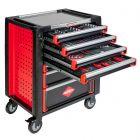 Servante d'atelier complète 7 tiroirs - 217 outils à main (petit modèle)