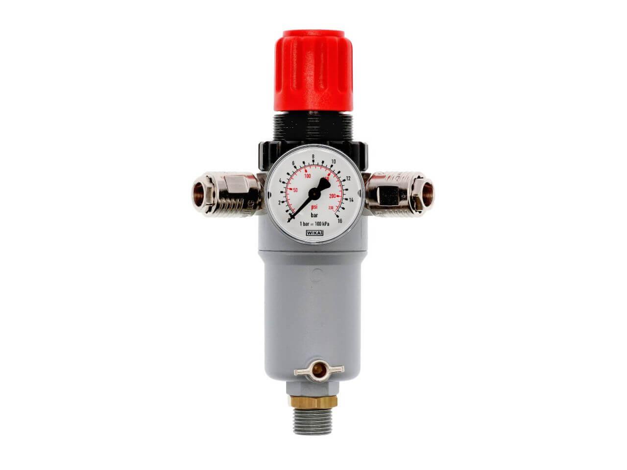 Reducteur de pression avec filtre