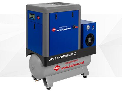 Airpress Série-X Compresseur à vis 7-5 Combi Dry