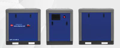 Compresseurs à vis APS-X 50 Onduleur sans cuve ni sécheur