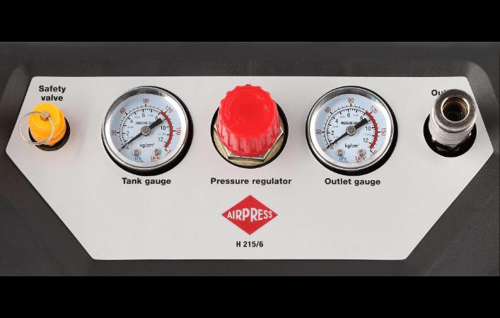 Compresseur HL 215-6 panneau de controle